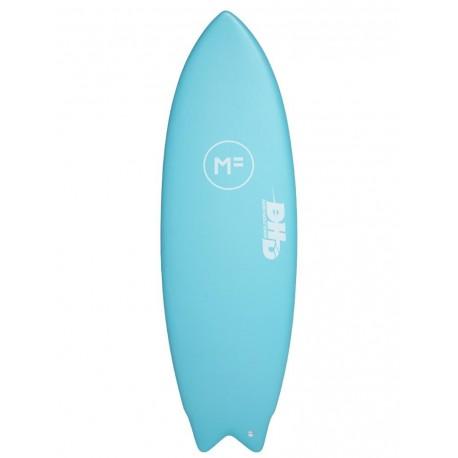 Planche De Surf En Mousse DHD Twin-Island Paradise FCSII 3F 5'4 27L