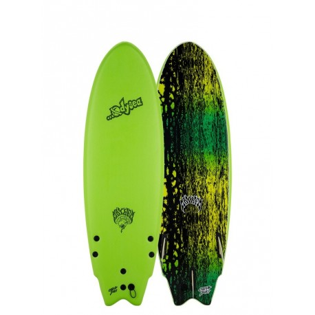 Odysea x Lost-Rounded Nose Fish-TRI-FIN 5'11 Apple Green