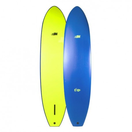 Planche de surf en mousse Mullet Single Fin 8'0
