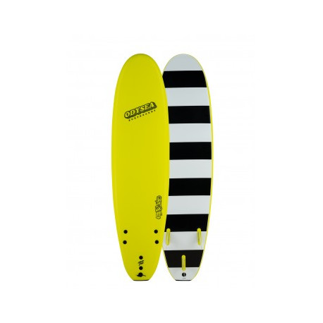 Planche de surf en mousse Catchsurf Odysea Log-Electric Lemon