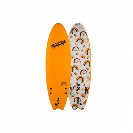 Planche De Surf En Mousse Catchsurf Skipper Odysea-Taj Burrow 6'0