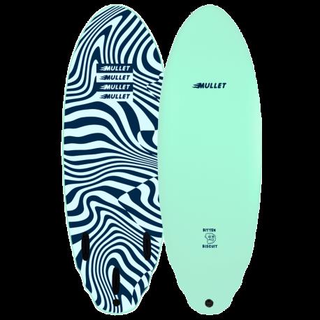 Planche de surf en mousse Mullet Bitten Biscuit 5'4