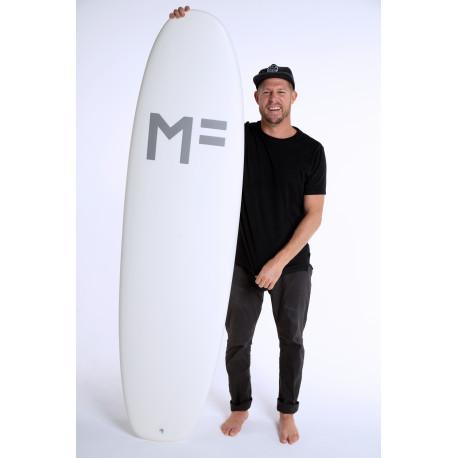 Planche De Surf En Mousse MF Beastie-White FCSII 3F 7'0 50,05L