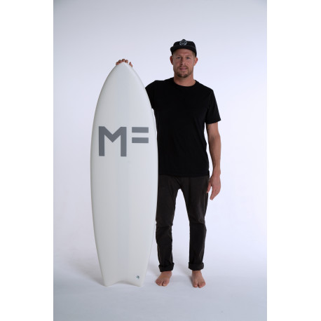 Planche De Surf En Mousse MF Catfish-White 5'10 37L/FUTURES