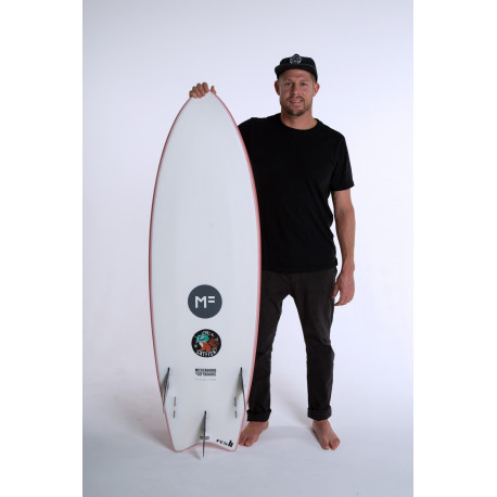 Planche De Surf En Mousse MF Catfish-Coral 5'8 33L/FUTURES