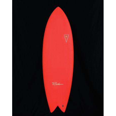 Planche de surf en Mousse JJF PYZEL Astrofish 6'0 Red