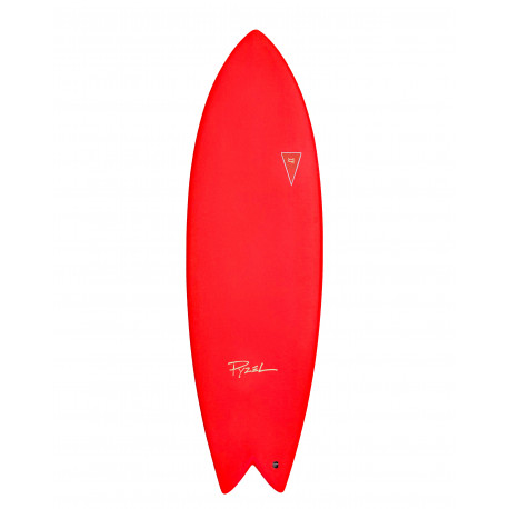 Planche de surf en Mousse JJF PYZEL Astrofish 6'6 Red