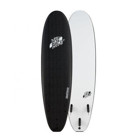 Planche De Surf en Mousse Wave Bandit par Catch Surf Easy Rider 7.0 Black