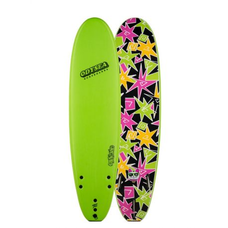 Planche De Surf En Mousse Catchsurf Odysea LOG Kalani Robb 7'0 Lime