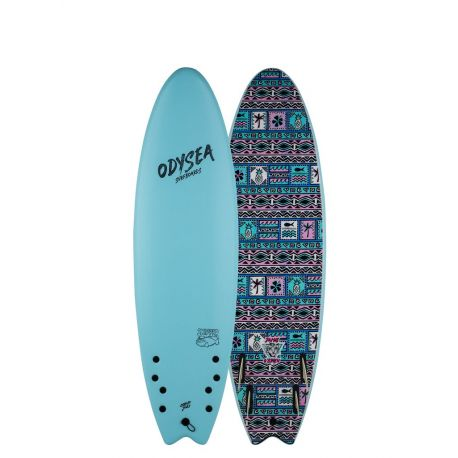 Catch Surf Odysea Skipper Pro-JOB Quad 6'6 Sky Blue