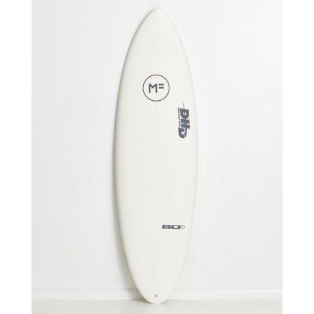 Planche De Surf En Mousse DHD Black Diamond White 6'10 Futures 47L