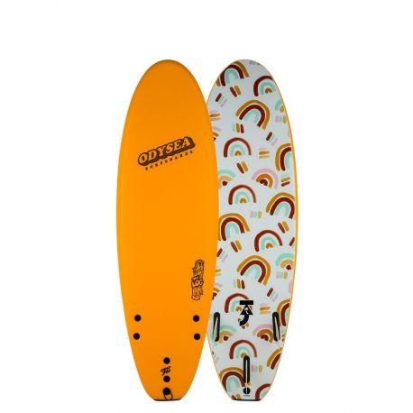 Planche De Surf En Mousse Catch Surf Odysea Log 6'0 Taj Burrow Pilsner