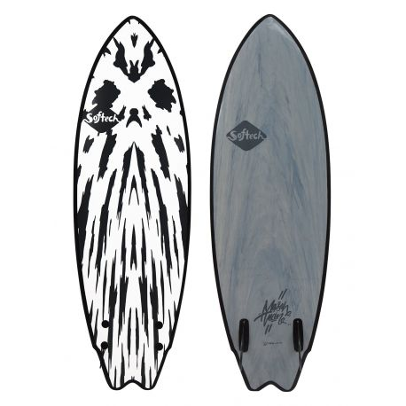 Planche De Surf En Mousse Softech Mason Ho Twin FCS II 5'10 Gunmetal Black
