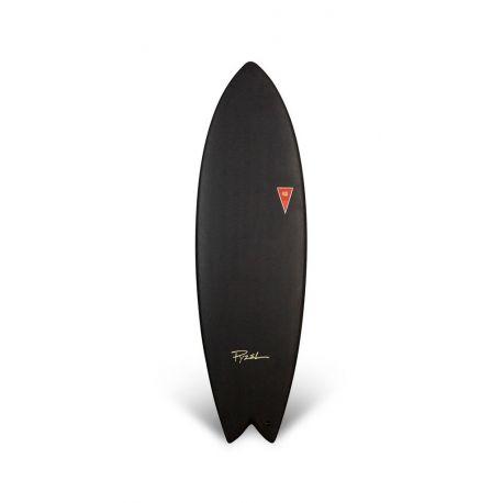 """Planche de surf en Mousse JJF PYZEL Astrofish 5'6"""" Black"""