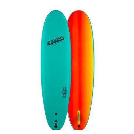 Planche De Surf En Mousse Catch Surf 8'0 Plank Single Fin Emerald