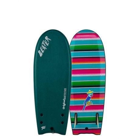 Planche De Surf En Mousse Beater Original 54 Johnny Redmond Green