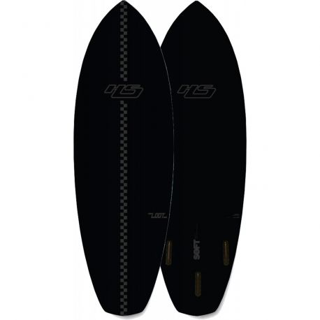 PLANCHE DE SURF EN MOUSSE HAYDENSHAPE LOOT FOAMY 6'6 BLACK