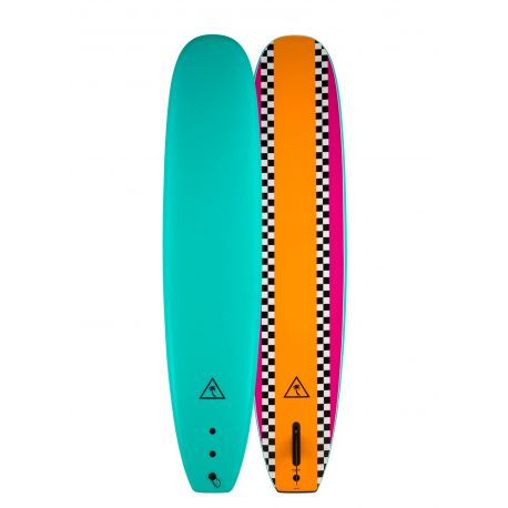 Catch Surf Heritage 8'6 Noserider Single Fin Orange