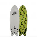 Wave Bandit by Catch Surf Retro Fish 5'8 Quad Black