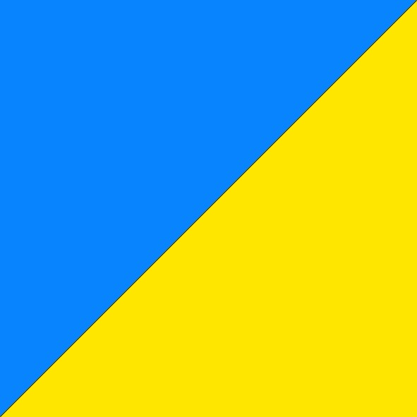 Light Blue/Fluro Yellow