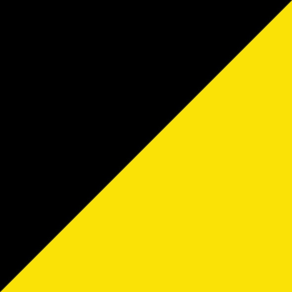 Black/Fluro Yellow